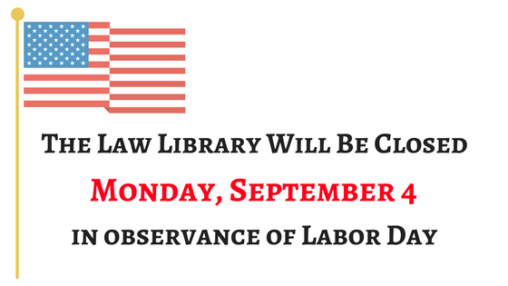SFLl Closed Labor Day
