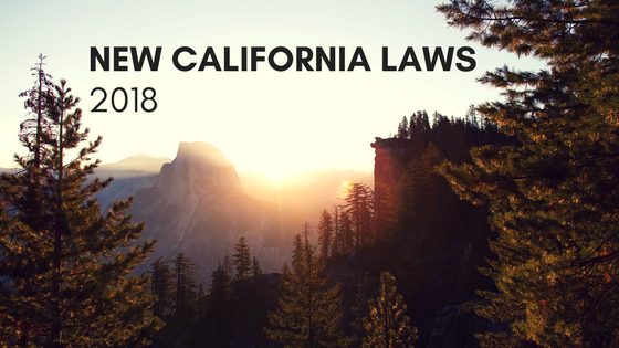 2018 New Laws
