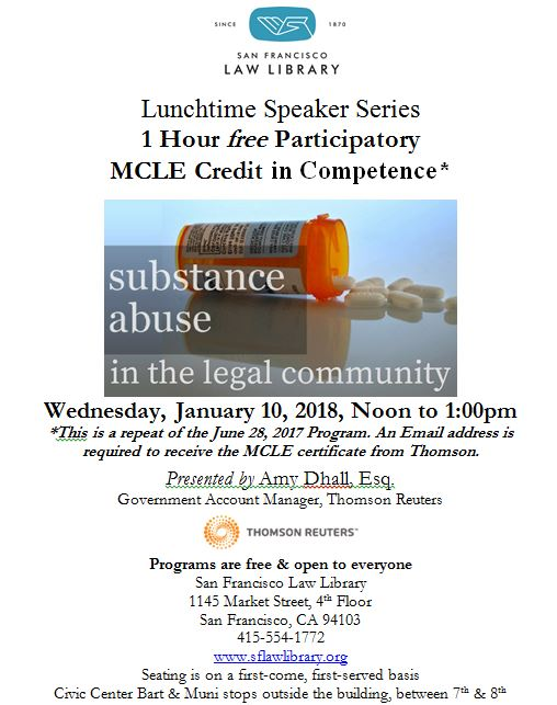 Jan 10 2018 Westlaw Competence MCLE Flyer