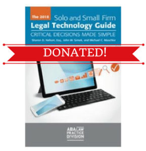 2018 Legal Tech Donated