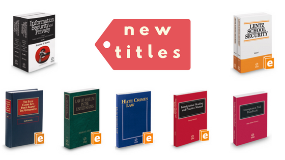 New Titles September 2018
