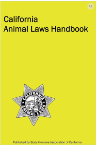 CA Animal Laws Handbook