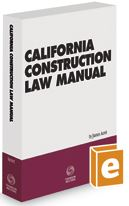 California Construction Law Manual