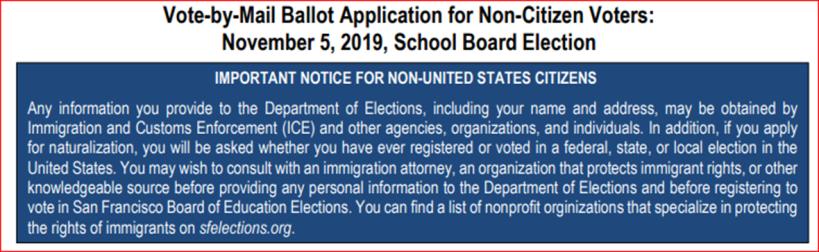 non-citizen voting