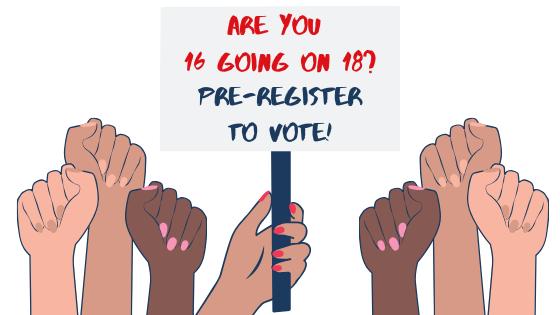 Pre-register to vote
