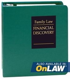 Family Law Financial Discovery